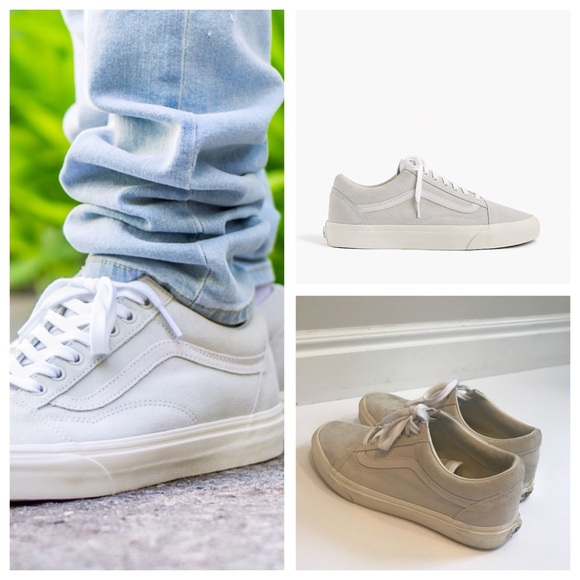 af12b5fb3875 J. Crew Shoes - J. Crew x Vans Suede Old Skool Sneaker